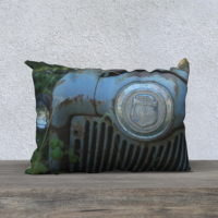 Blue Tractor 20 x 14 Pillow Case